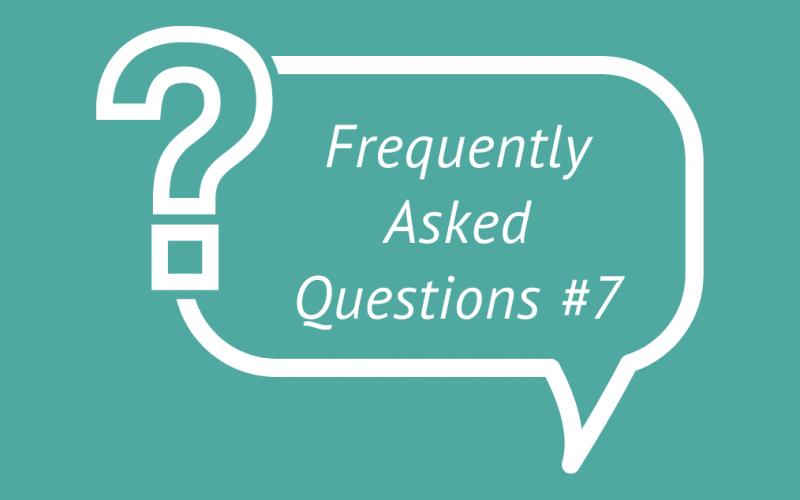 FAQ 7 blog